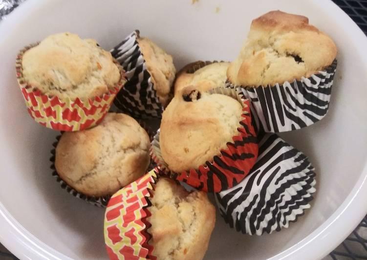 Orange Cherry Gluten Free Muffins