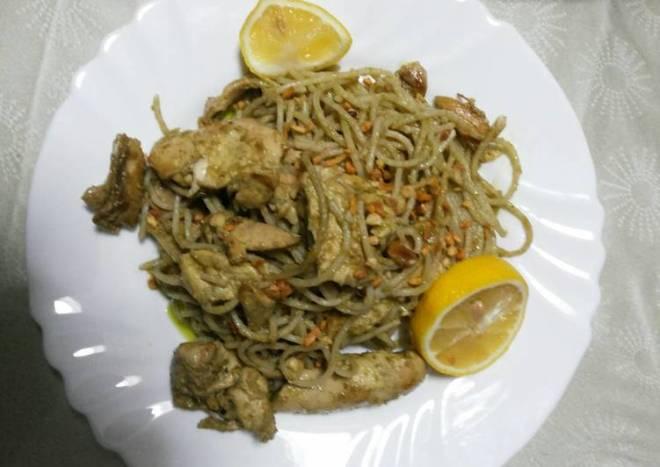 Easy Chicken Pesto Pasta
