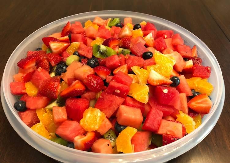 Super summer fruits salad