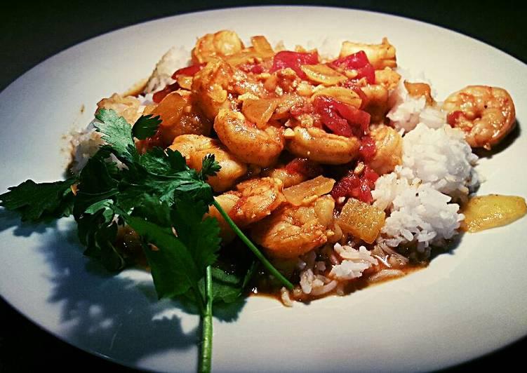 Coconut shrimp curry *SKINNY*