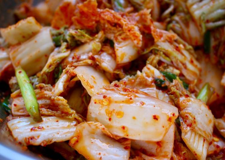 Kimchi (Easier than you think! ;) )