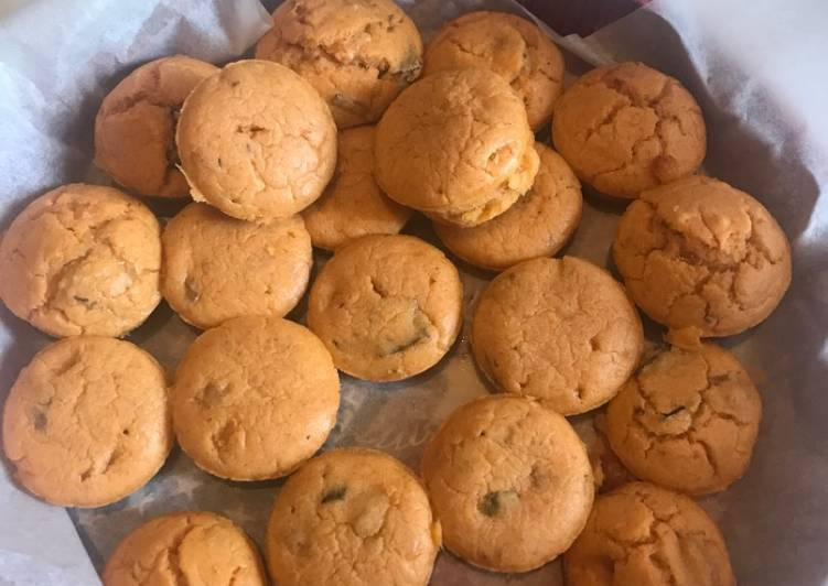 Muffins ratatouille