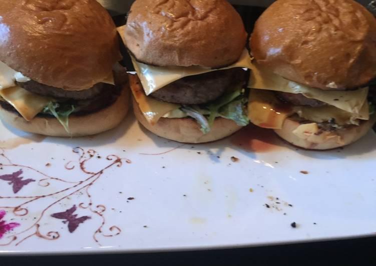 Hamburger à la plancha