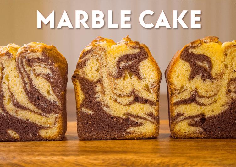 Cocoa Marble Pound Cake☆Recipe Video☆