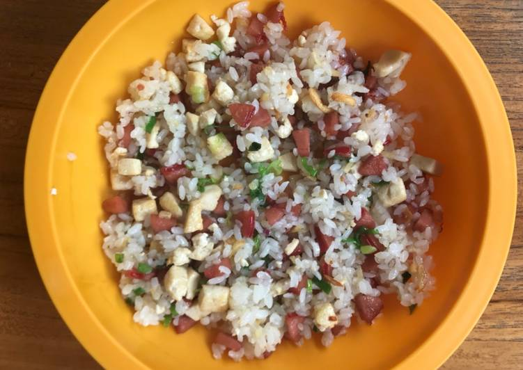 Makanan Anak Nasi Goreng Sosis Tahu