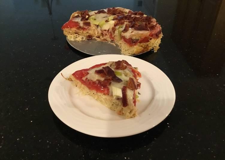 Pasta, Tomato, Cheese Tart