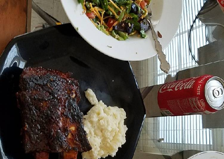 Oven Baked Beef Back Ribs