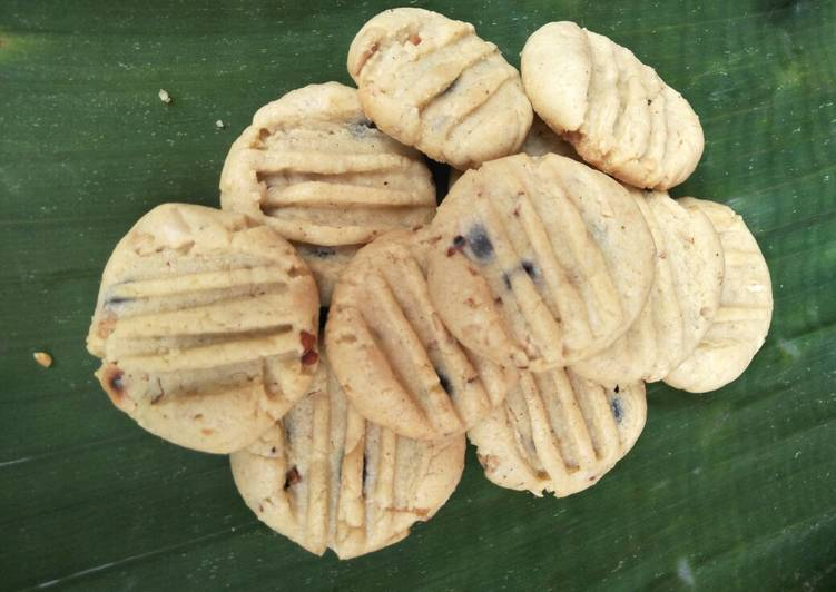 Kue kering kacang chocochips #BikinRamadanBerkesan