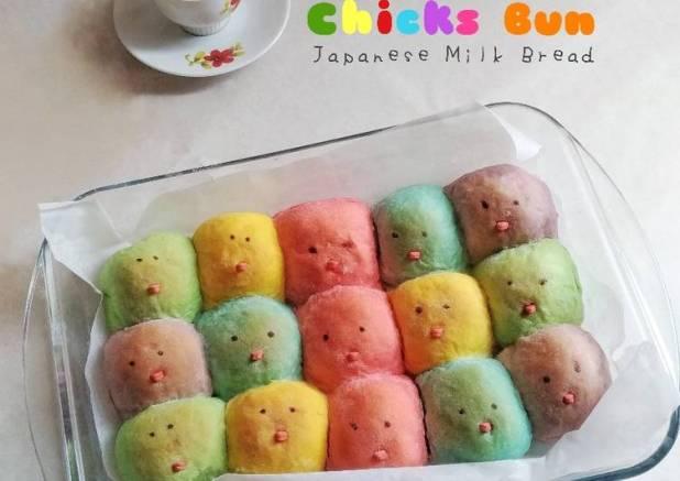 Chicks Bun    Japanese Milk Bread