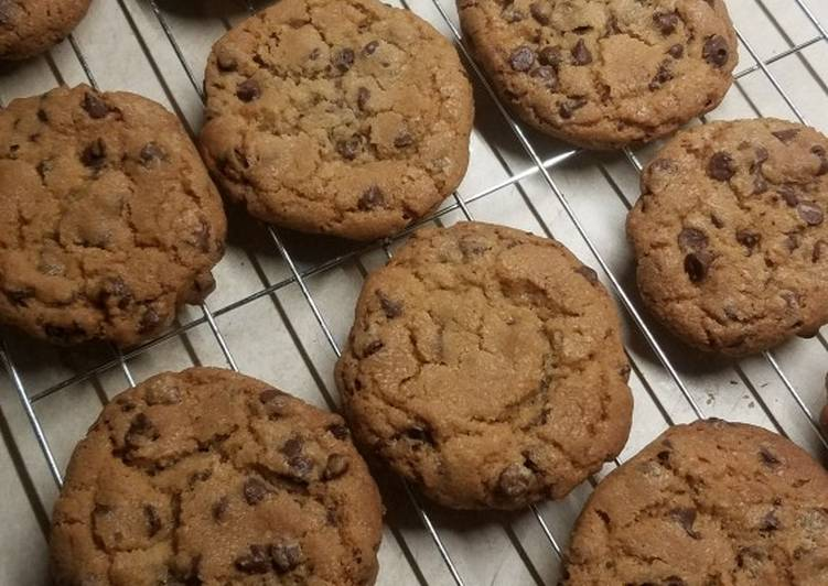 Nanny's chocolate chip cookies