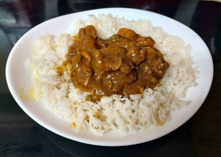 My Favourite Spicy Chicken Coconut Curry 👩🍳