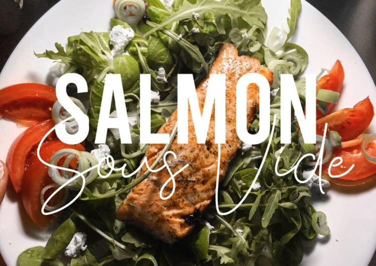 Fitness Recipe: Sous Vide Salmon
