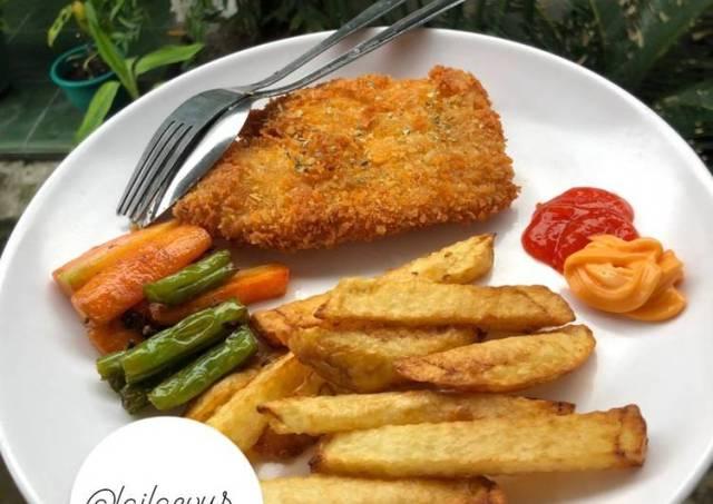Fish & Chip Ikan Dory Ala Fish & Co