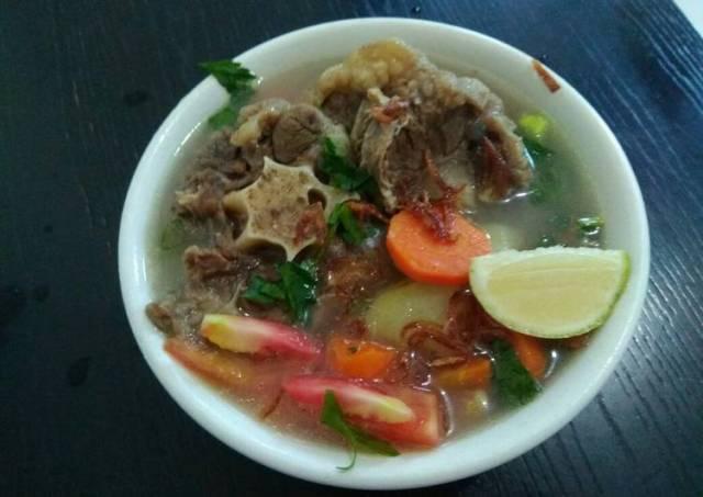 Soup BUNTUT rempah
