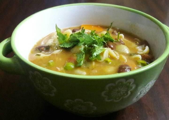 Minestrone soup #teamcontest#THEBIGFIVE#Soup#Kidsmenu