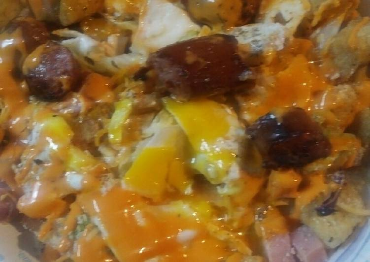 Breakfast Salad/ A Hot Mess