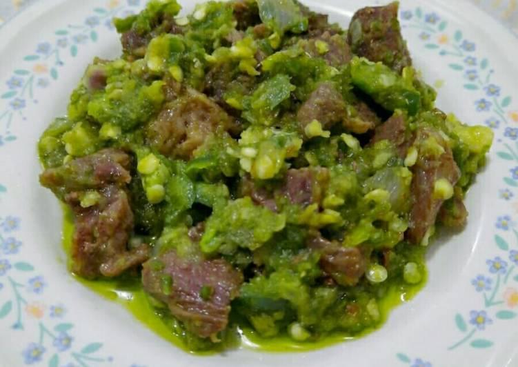 Daging Sapi Sambal Ijo