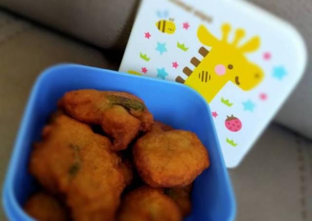 Bakwan Daging Jagung semi, makanan sehat untuk anak 1 tahun