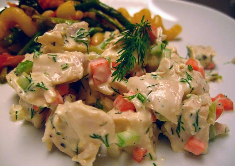 Lemon Dill Chicken Salad