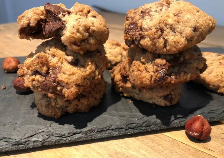 Cookies cœur au nutella