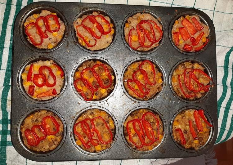 Veggie cakes with tuna