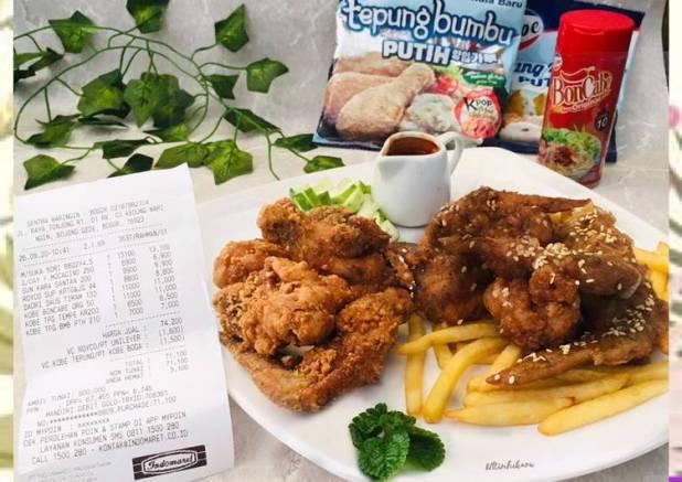225. Kobe Ayam Goreng KPop#KreasiTepungKobe