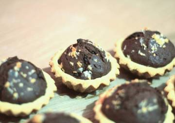 Resep Brownies Pie (No Oven) Top