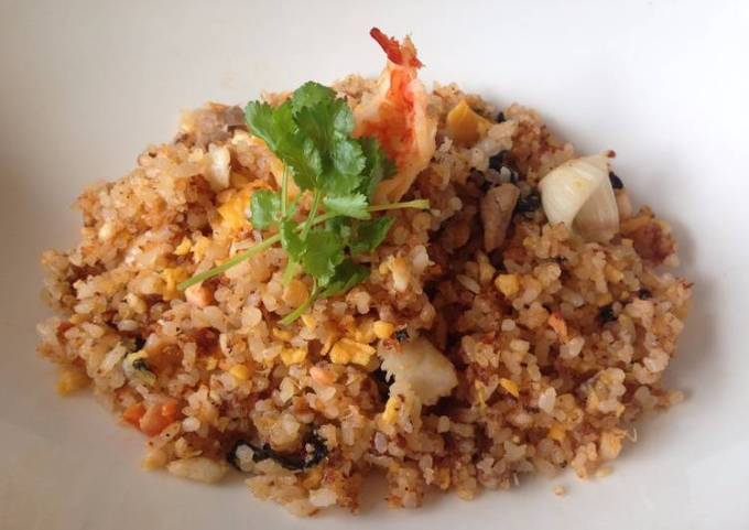 Fried Rice with Sushi