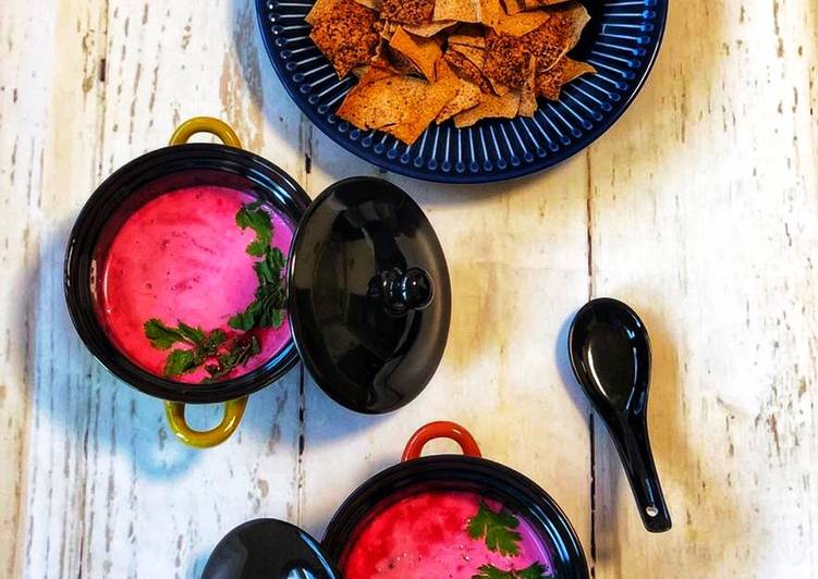 Navratri Food Special - Beetroot Coconut Soup