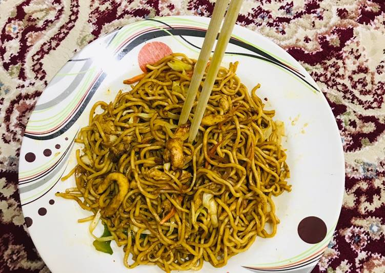 Chinese Hakka noodles #Ramzan special