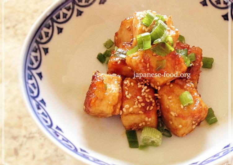 Easy Sesame Tofu (Vegan/Gluten-free)