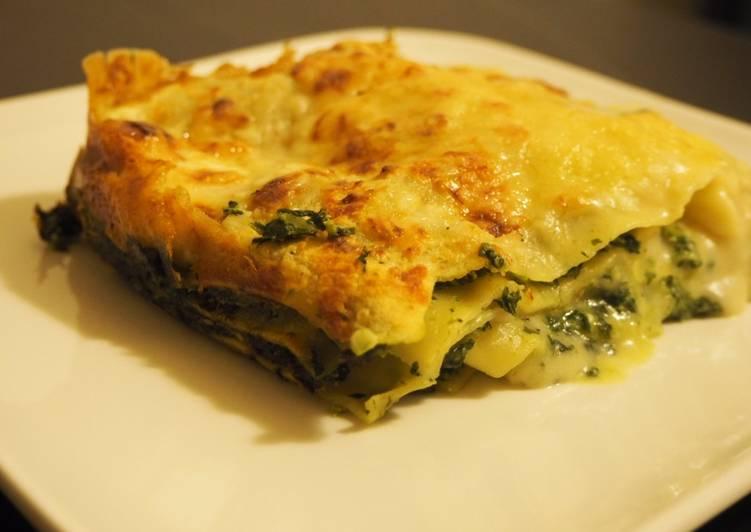 Lasagnes Epinards/ Ricotta