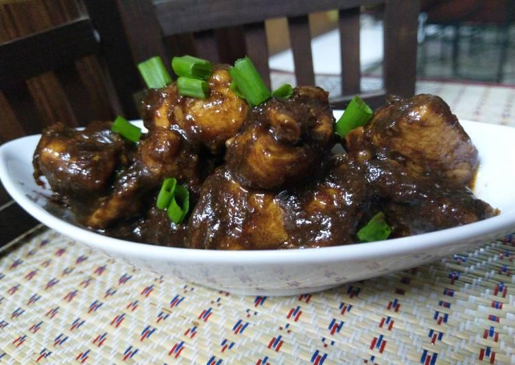 Smokey dates chicken