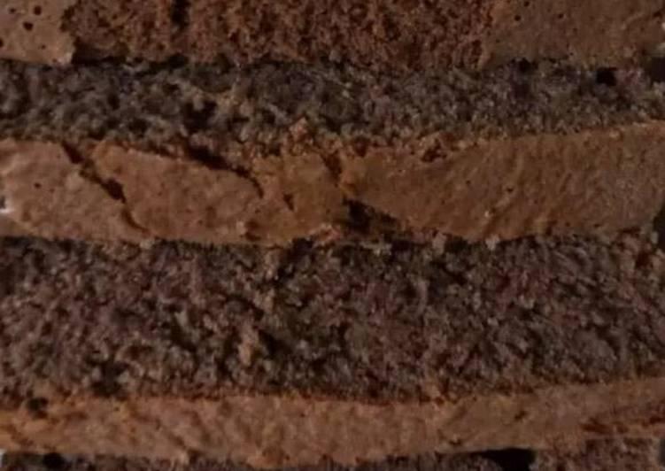Simple chocolate cake#jikonichallenge