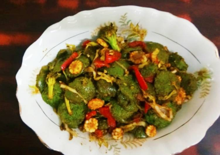 Chinese Green Idlies