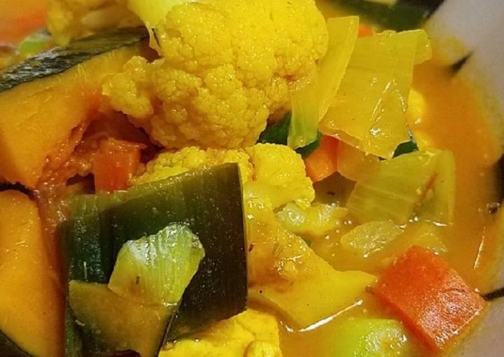 Japanese Curry Pumpkin Soup #mommasrecipes
