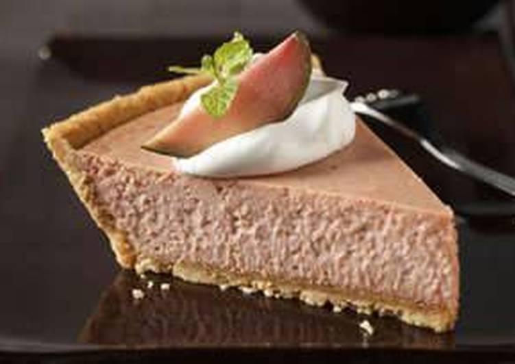 Easy Guava Cheesecake