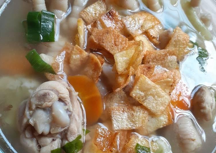 Sup Ayam Bumbu Sederhana