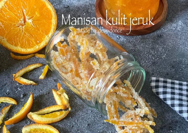 Manisan kulit jeruk