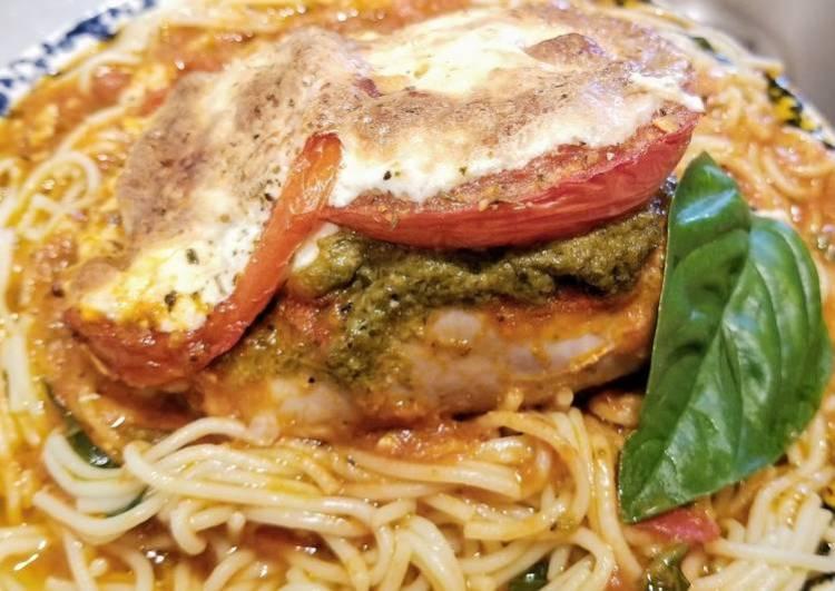 Basil Pesto & Mozarella Chicken Thighs