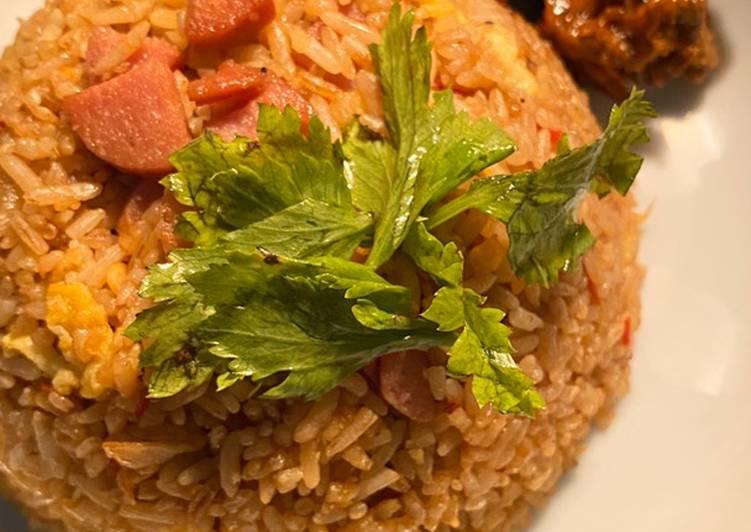 #Nasi goreng rasa Resto anti ribet by c o o k p u k