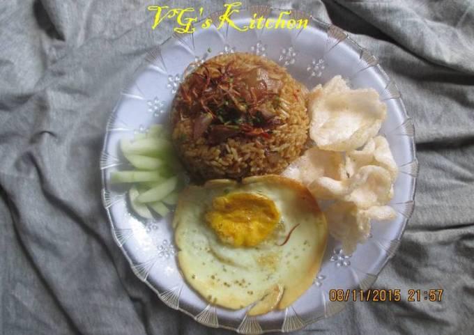 Tripe Fried Rice from Semarang (NASI GORENG BABAT - SEMARANG)