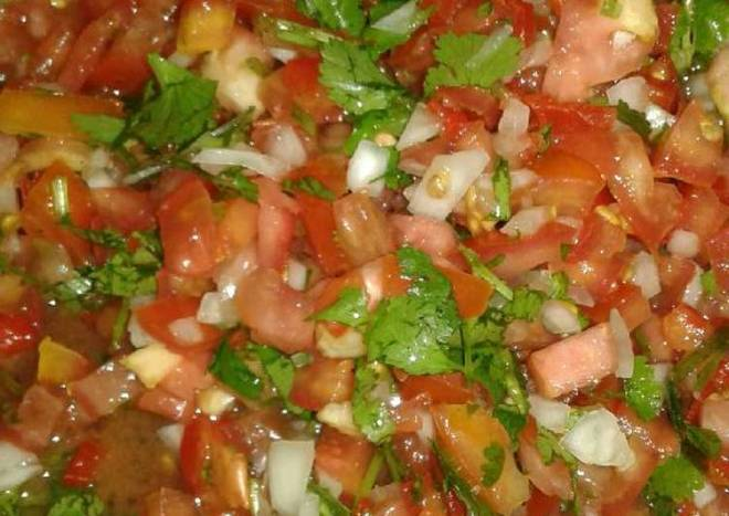 Pico de gallo o chimichurry