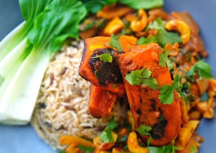Charred Sweet Potato Curry