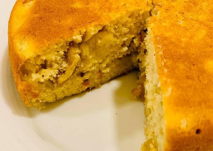 3 ingredient banana cake