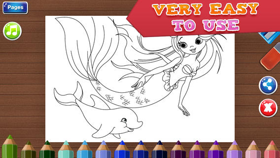 coloring pages for girls fun games for kids app for ipad