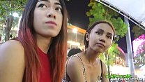 Super tiny 18yo Thai hottie with Bangkok bubble-butt booty rides tuktuk ft. Song