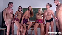 Fucking in glasses gives Dolly Diore & Cathy Heaven XXX foursome scholarships