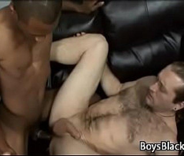 White Sexy Teen Gay Boy Enjoy Big Black Dick Deep 24