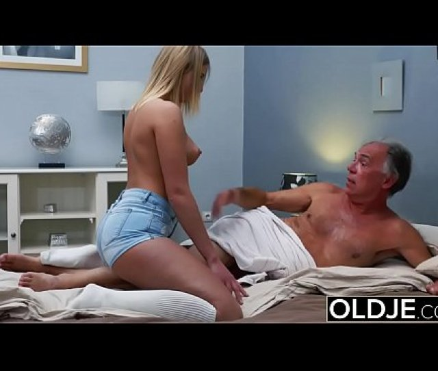 Blonde Teen Fucked By Hairy Old Man She Loves Getting Sex Blowjobs And Cum Xnxx Com